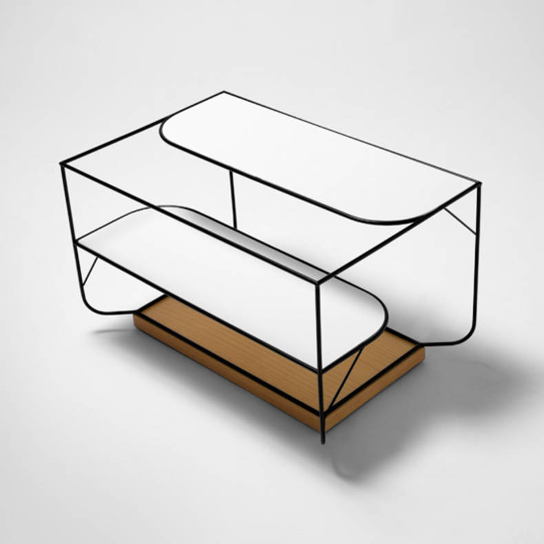 Stylish and Elegant 'Naturally Collection' of Furniture by Alexandra Gonçalves