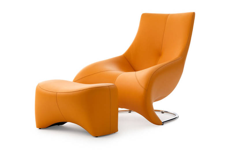 Luxurious 'Darius' Armchair by Leolux