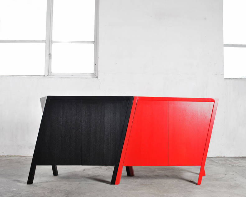 Dancing Cabinet by Markus Johansson
