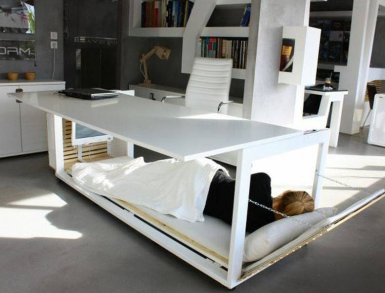 'Desk Bed' for Office by Studio NL