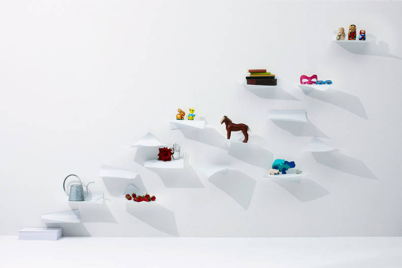 Wonderful Blow Shelving by YOY