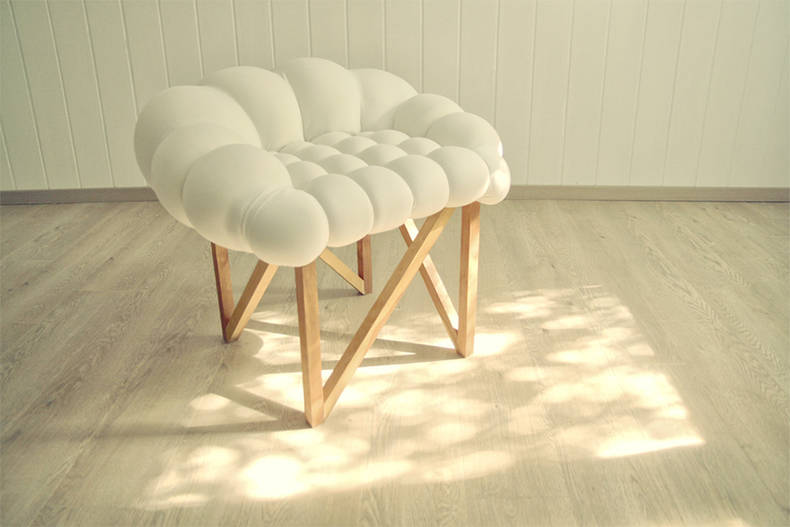 Really Soft Chair 'Snöbär' by Yonder Magnetik!