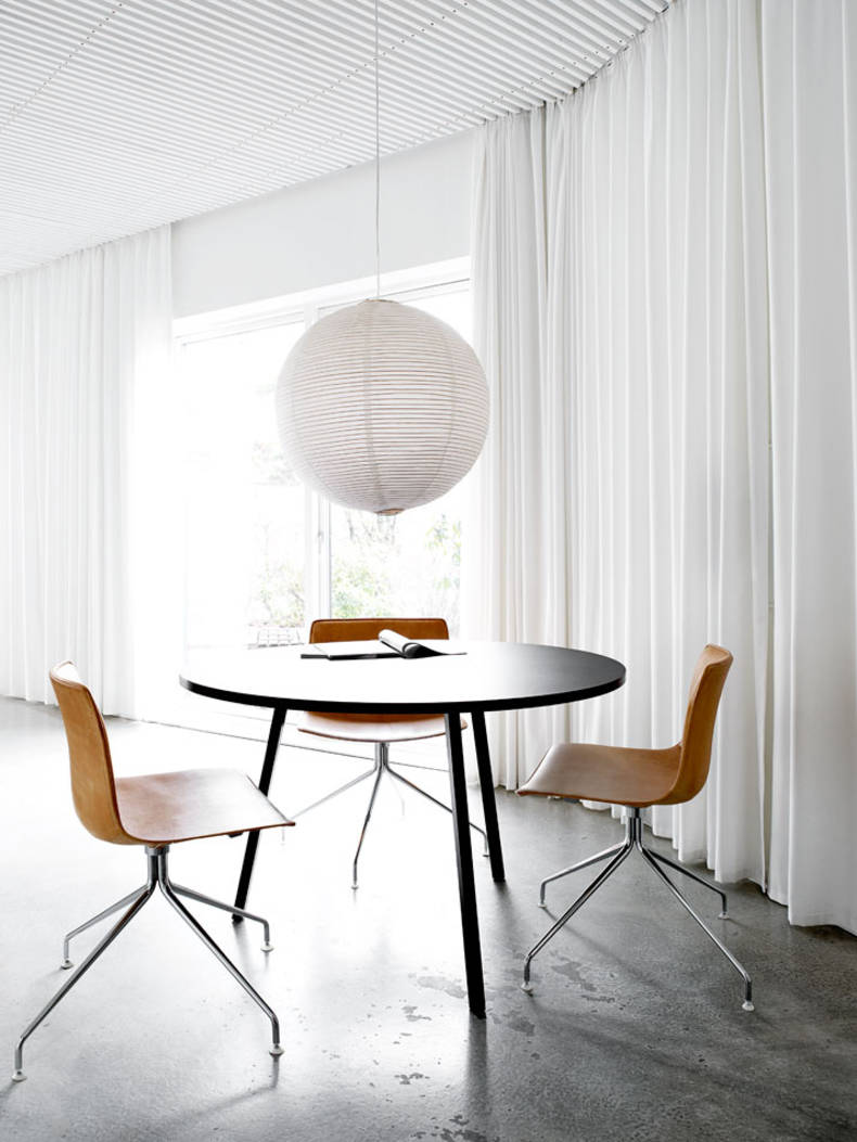 Danish summer home with the rooms of different styles: Mette and Martin