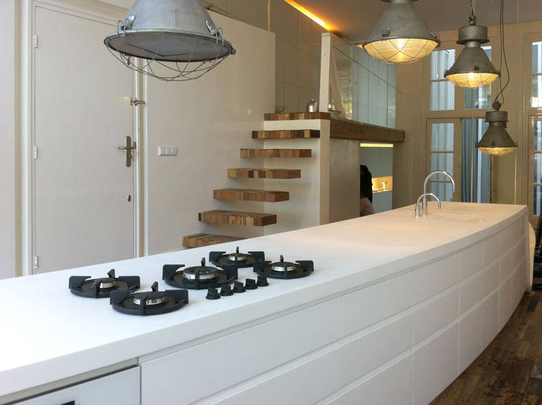 Kitchen Renovation by CUBE Architecten